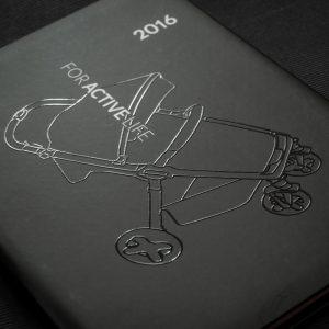 Kalendarze książkowe - lakier