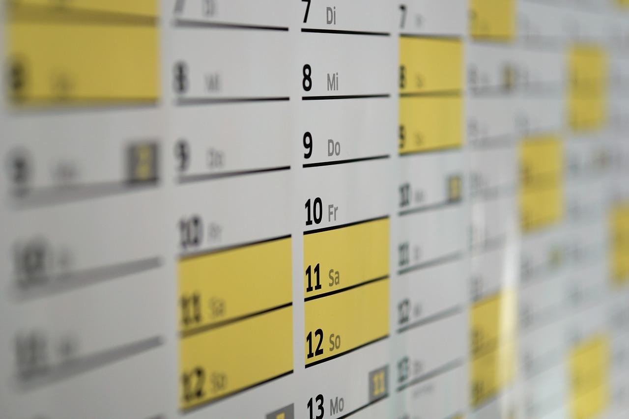 dlaczego warto posiadać papierowy kalendarz?