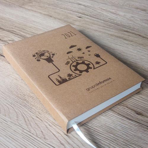 kalendarz ekologiczny papier kraftliner