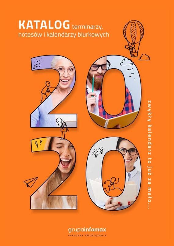 Okładka katalogu kalendarzy 2020