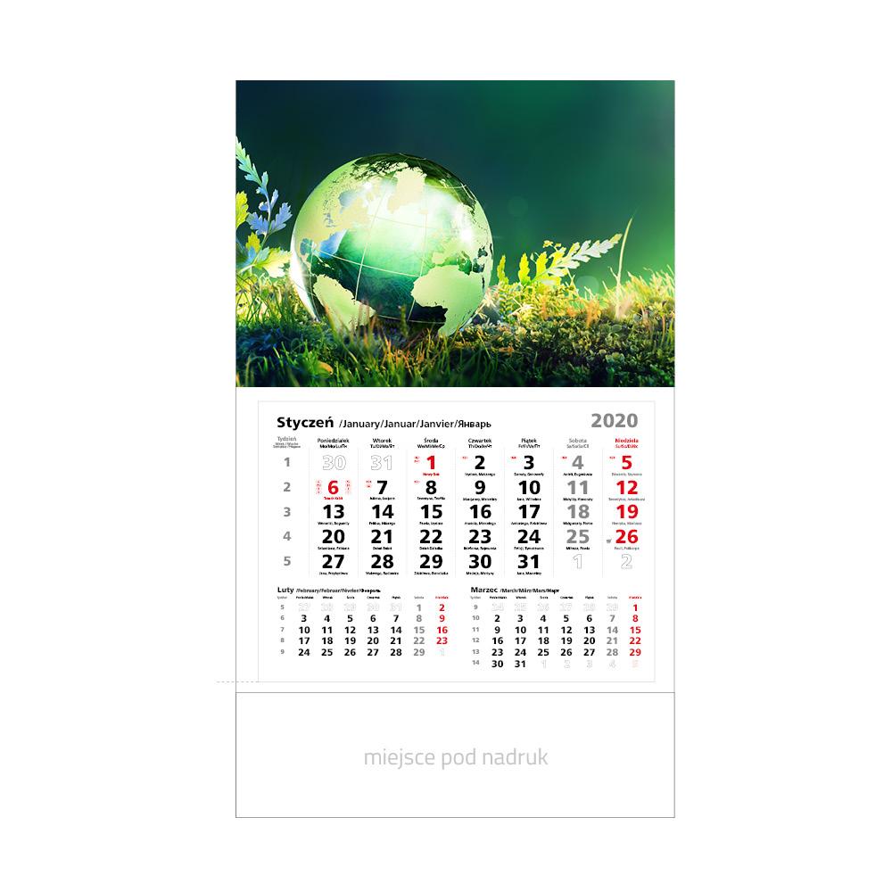 firmowe kalendarze jednodzielne