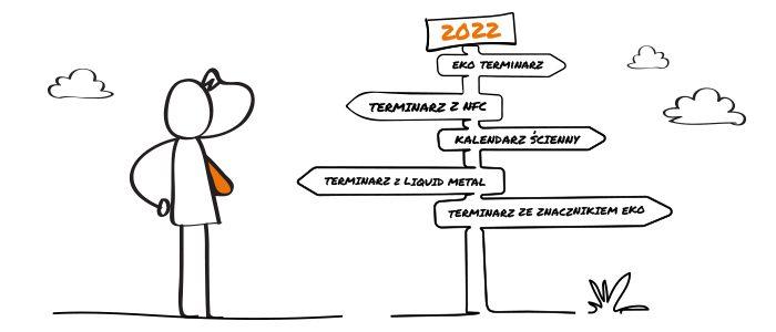 kalendarze 2022 , inspiracje i pomysły