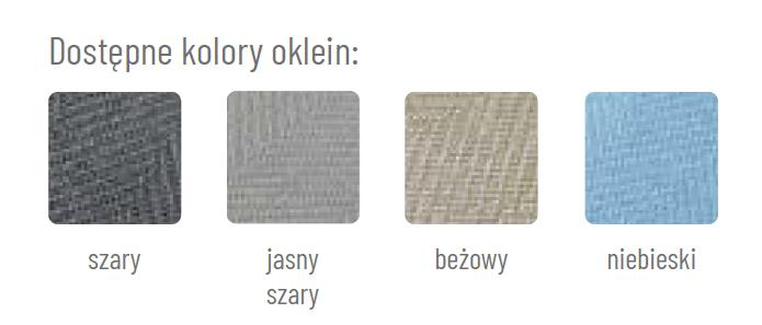 kolorystyka okleiny tweed